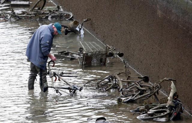 Что можно найти на дне городского канала