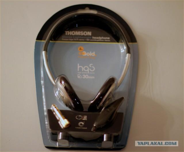 Вдую наушники THOMSON HED341. 10 штук.