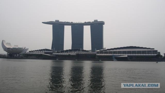 """Сингапур. Гостиница """"Марина Бэй"""""""