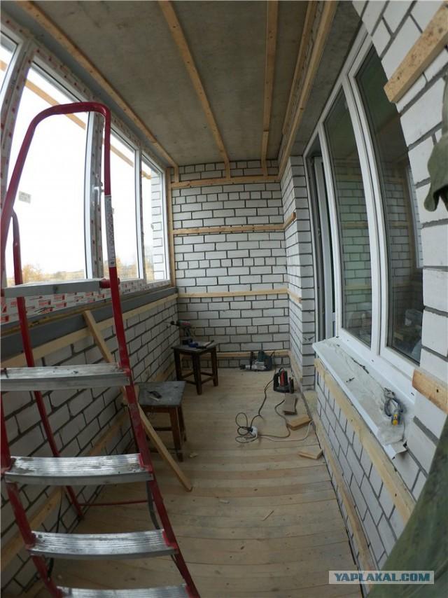 Как утеплить лоджию- советы по ремонту и дизайну интерьера.