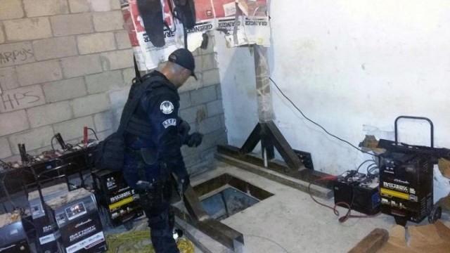 Полиция Мексики обнаружила тоннель в США