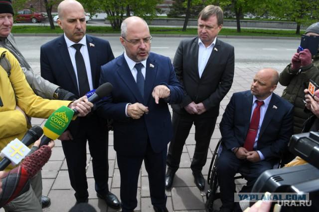 Депутат Госдумы: кто против строительства церкви в сквере - сепаратист