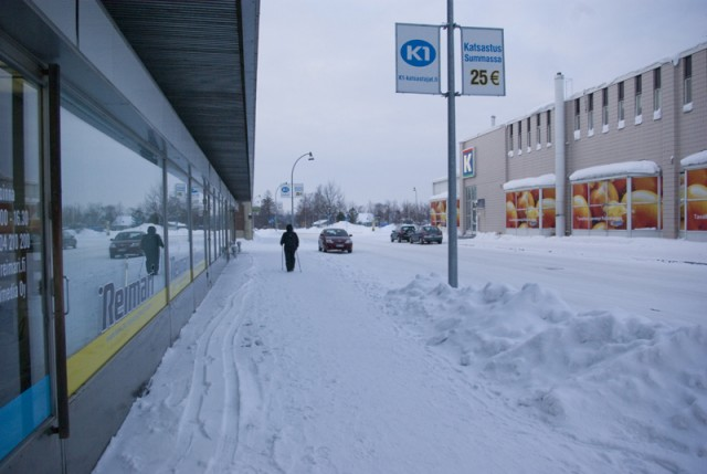 Первая поездка за границу. СПб-Хельсинки. На Оке