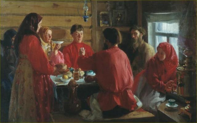 Еда крестьян в царской России