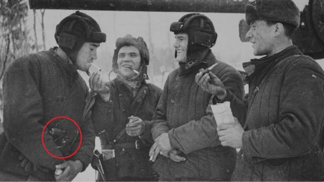 Почему танкисты носили только Наган?