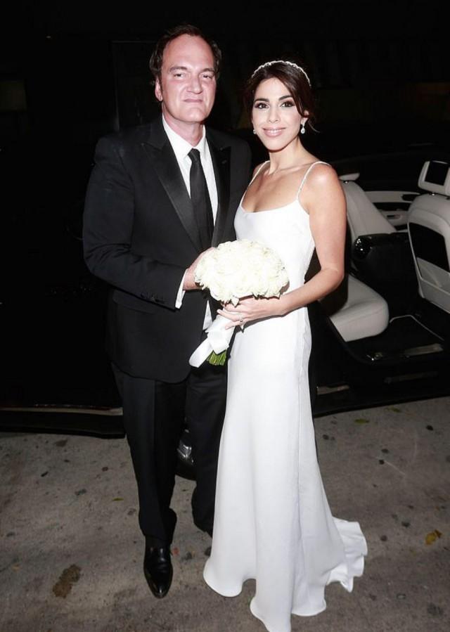 Брак все-таки победил кино: Тарантино впервые женился в 55 лет