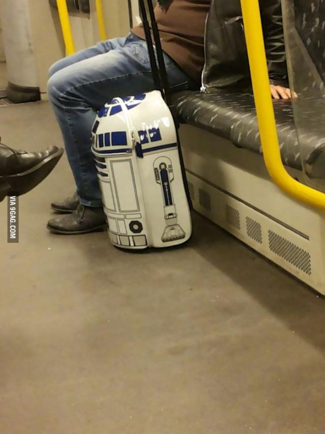 Черт побери, я хочу себе такой чемодан!