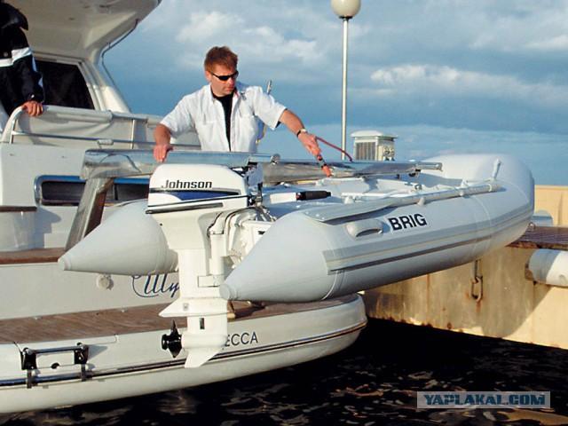 Лодка DRIG с мотором Johnson