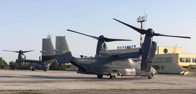 В Винницу прилетели натовские гибриды самолета и вертолета