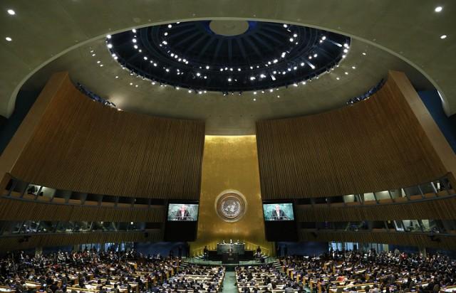 В ООН отказались комментировать подготовку в США законопроекта о выходе из организации