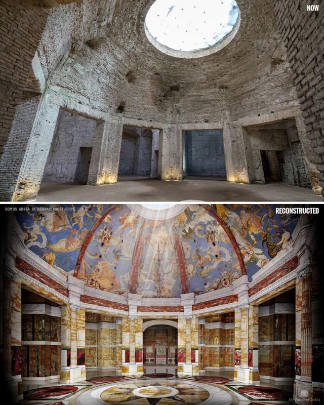 Как могли бы выглядеть 7 реконструированных памятников истории