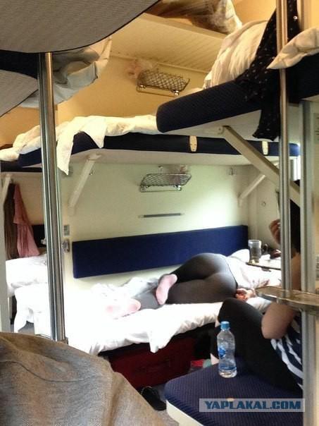Ехал в поезде