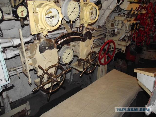 турбинист получи подводной лодке