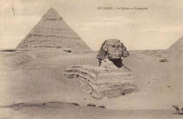Старинные фотографии древнего Египта