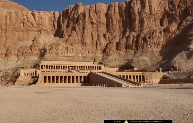 Не самый простой путь к храму царицы Хатшепсут