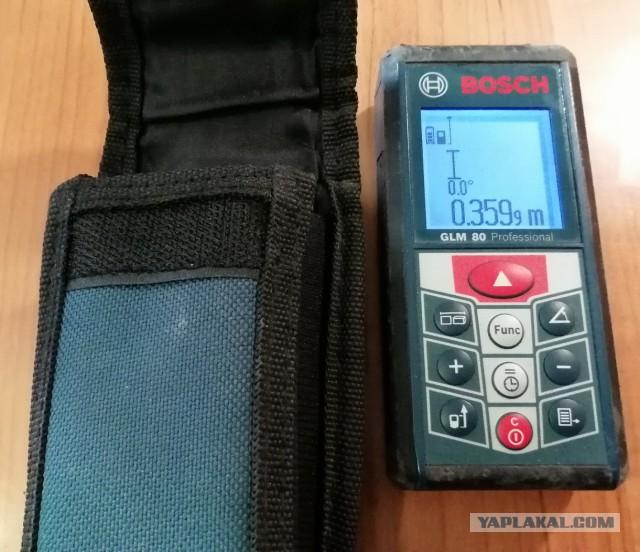 (Питер) Лазерный дальномер Bosch GLM 80 Professional