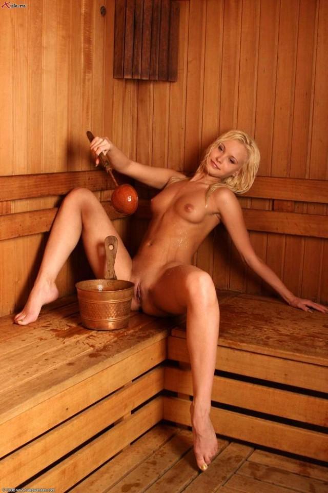Красивые телки в сауне