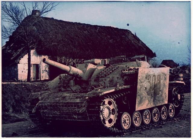Как немцы закидали нас своими трупами, 1944 г.