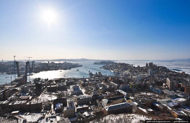 Дальний Восток. Панорамы Владивостока.