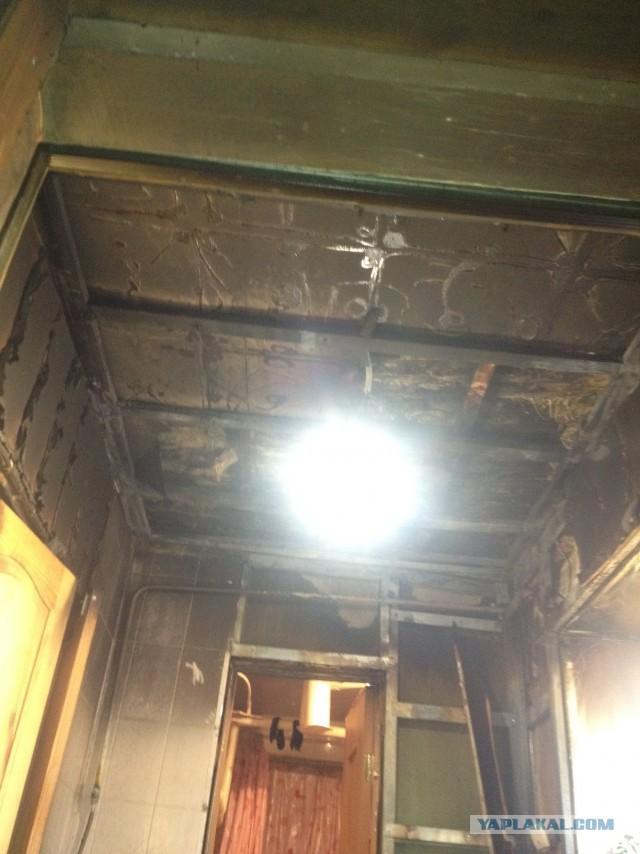 Вынужденный ремонт комнаты после пожарчика