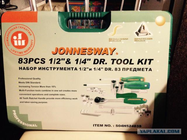 Набор инструмента Jonnesway 83 предмета