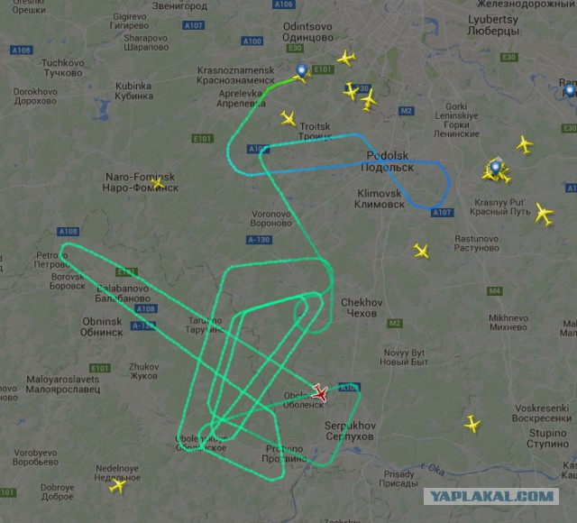 У борта Москва — Сургут отказал один из двигателей