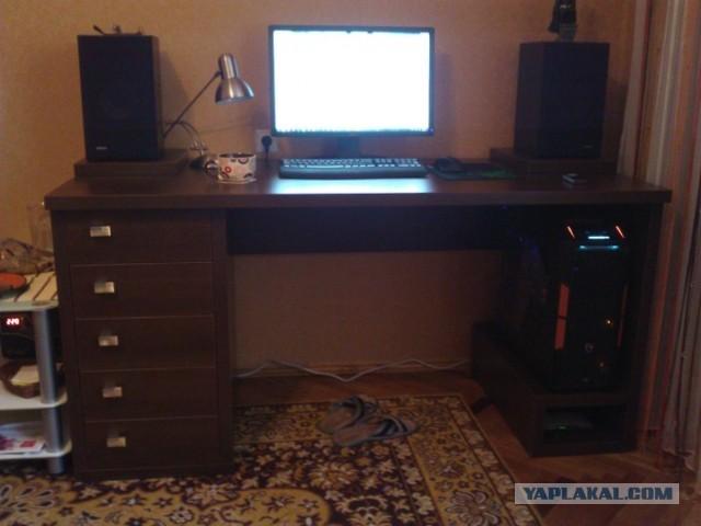 Компьютерный стол своими