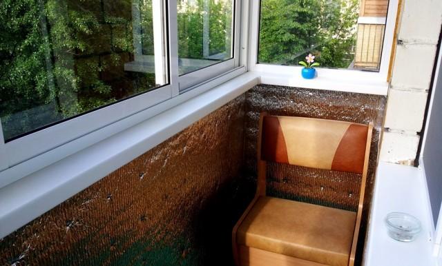 Эконом ремонт балкона своими руками
