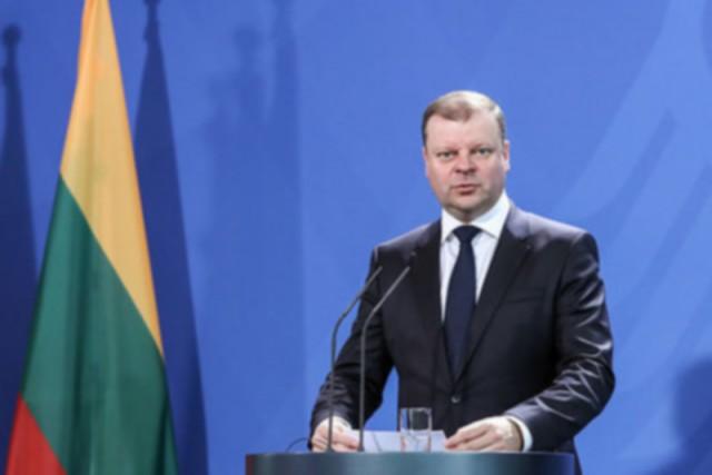 Премьер-министр Литвы обвинил Россию в экономическом удушении Прибалтики