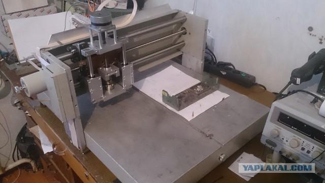 ЧПУ 3-D фрезер своими руками.