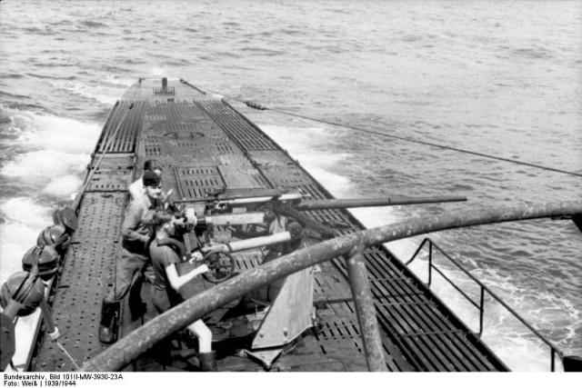 немецкие подводные лодки история видео