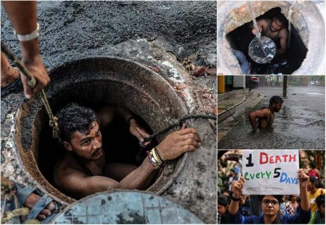 Адская работа: чистильщик канализации, стабильно отправляющая людей на тот свет