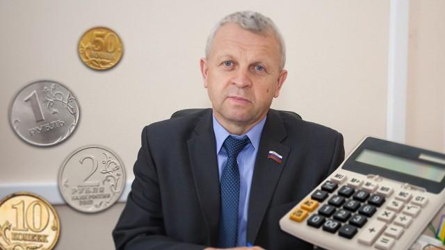 Самому богатому депутату Госдумы разрешили заплатить 5000 рублей в рассрочку