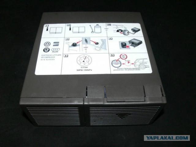 Автомобильный компрессор TUAREG, Q7 оригинал. Москва.