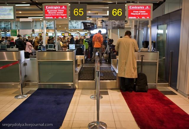 Аэропорт с точки зрения пассажира