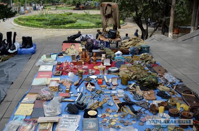 Блошиный рынок в Грузии!