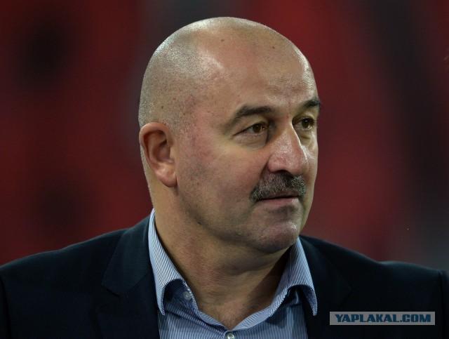 Главным тренером сборной РФ по футболу стал Станислав Черчесов