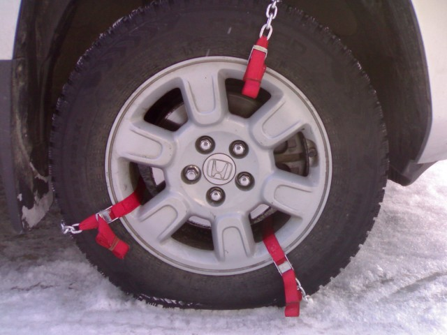 Как на уаз сделать цепи на колеса своими руками