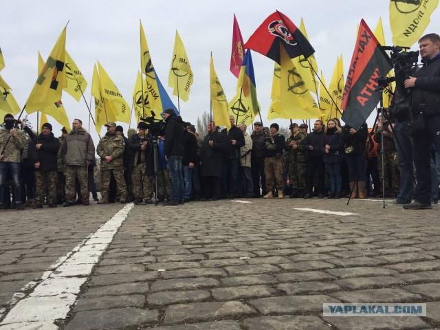 Боевики митингуют на месте сожжения людей в Одессе: «Здесь мы остановили Русскую весну»