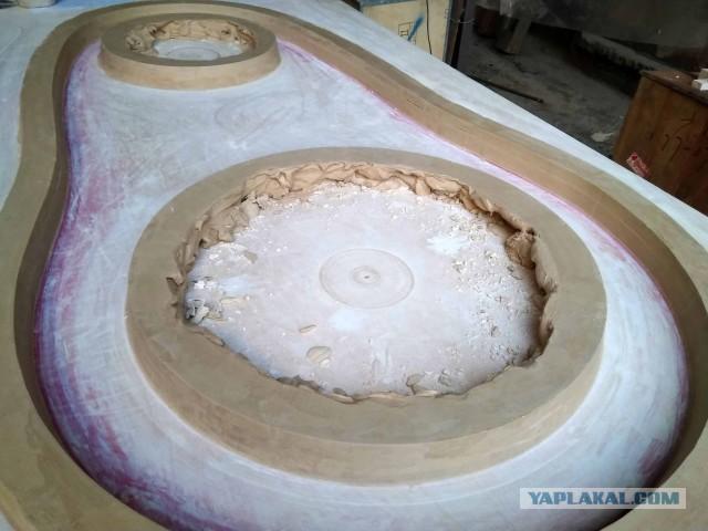 Создание здоровенного ползунка из стеклопластика
