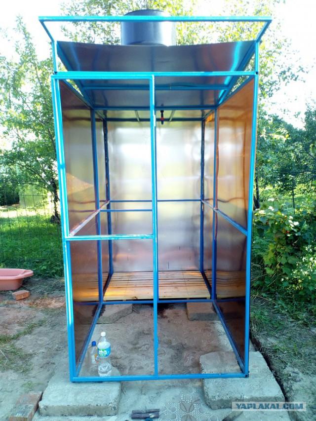 Строим летний душ на даче