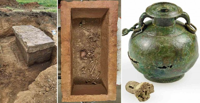 Загадка саркофага молодой женщины времен Римской империи. Расследование Лысого Камрада. Мумии и скелеты.43