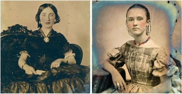 Винтажные фотографии, показывающие, как выглядели девушки-подростки в 1850-х годах