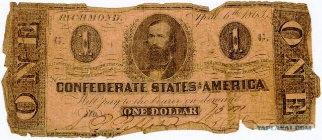 купюра, деньги, валюта, доллар, америка