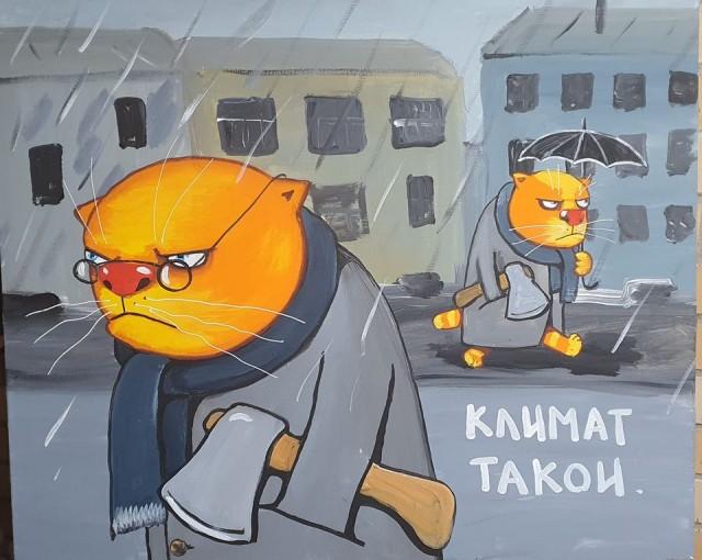 Культурные коты Петербурга