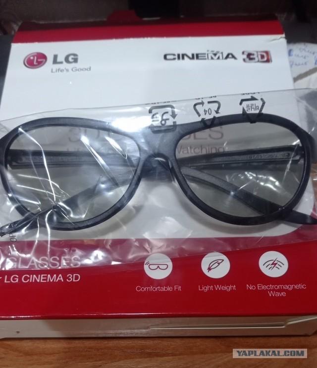Отдам 3D очки для LG