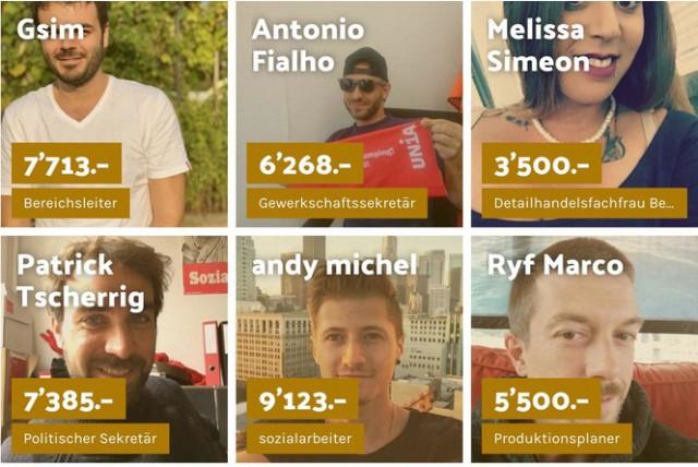 В Швейцарии набирает популярность проект, в котором люди сообщают размеры своих зарплат