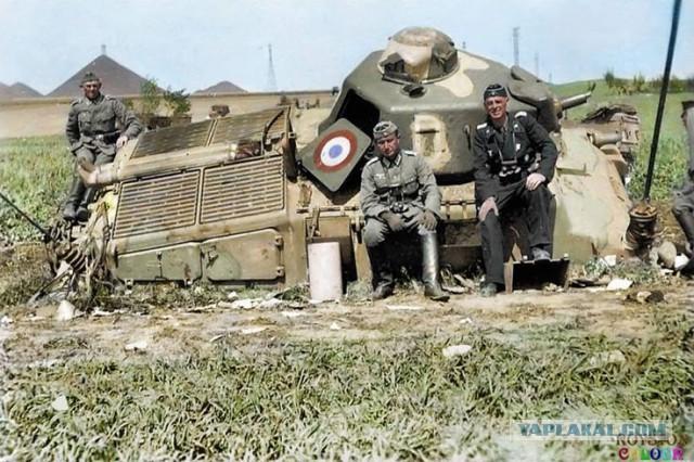 Английские и французские танки против немецких в кампании 1940 года