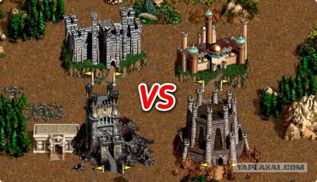 """Самый сильный и самый слабый город в игре """"Heroes 3"""" по результатам турнира"""