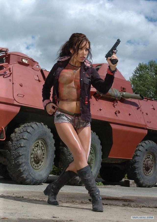 """Еще один розовый """"танк"""" (9 фото)"""